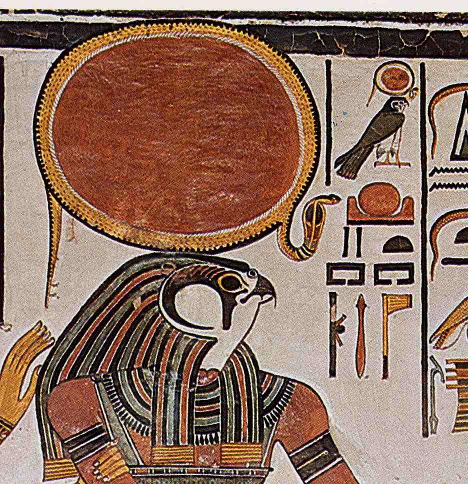 Horus, hijo de Osiris con Isis.
