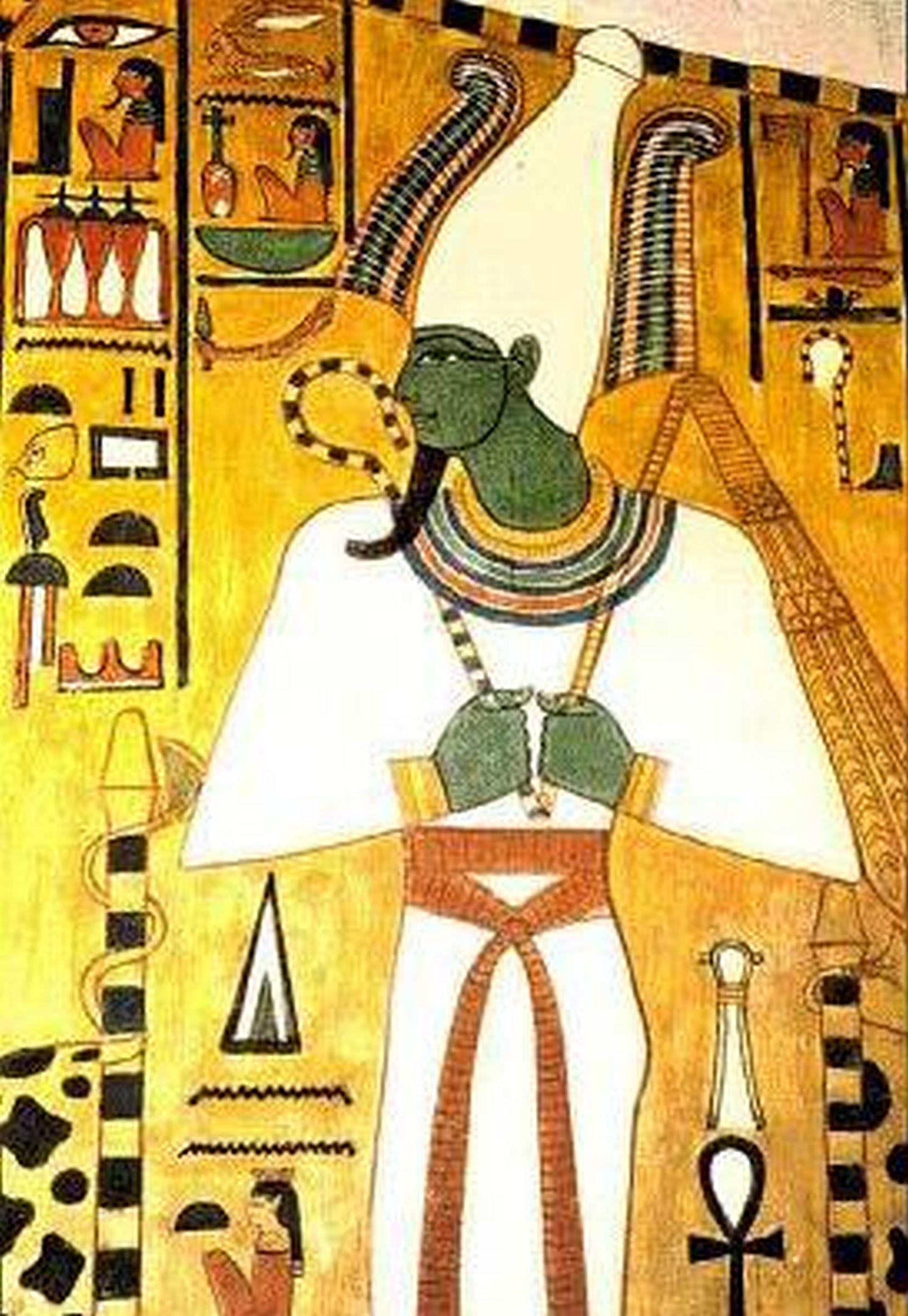 Osiris en la tumba de Nefertiti